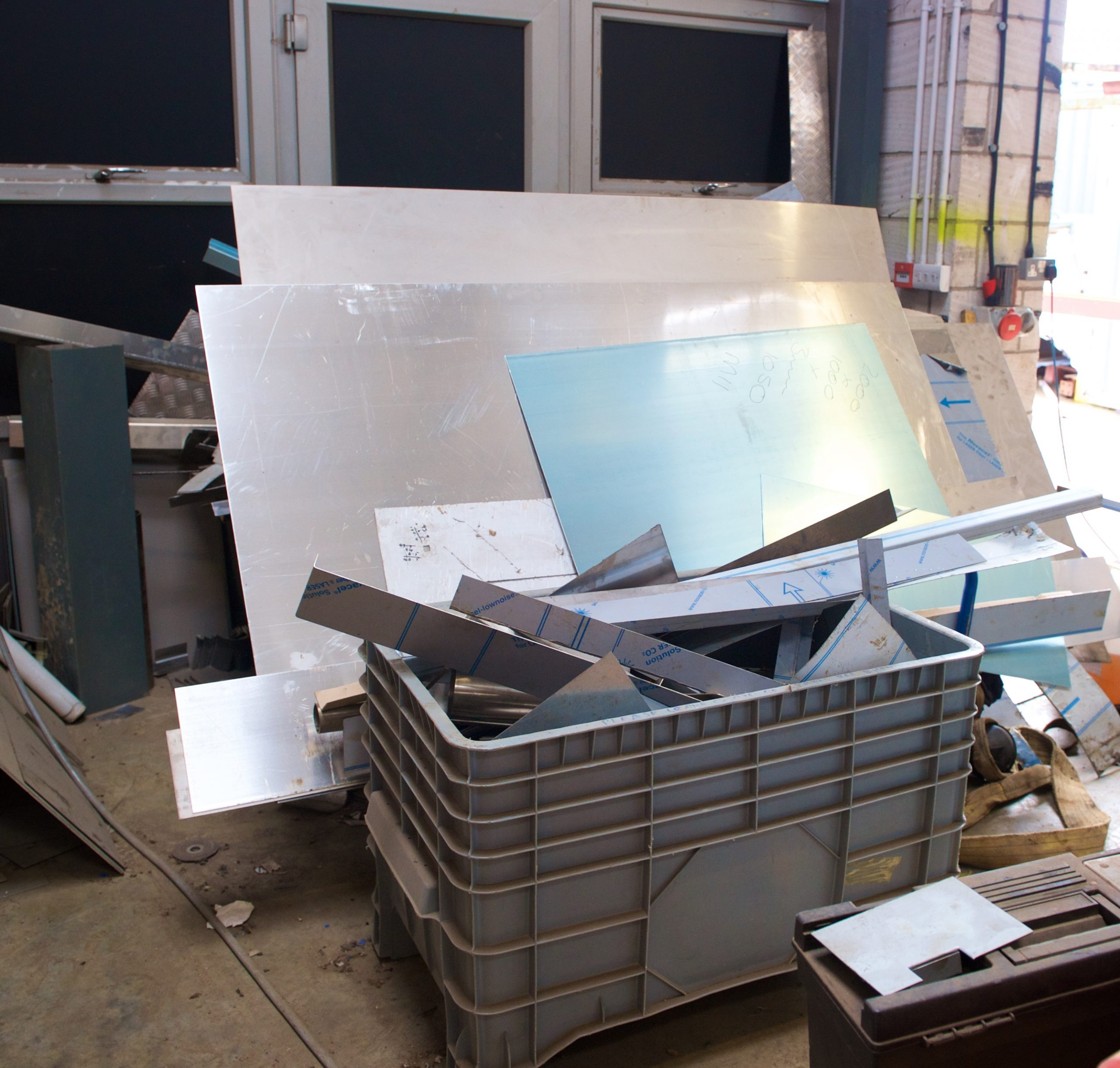 Sheet steel off cuts North Devon