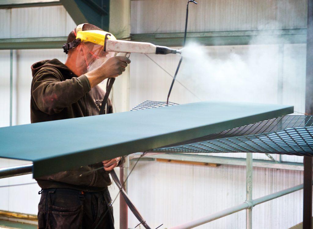 Devon Powder coating services
